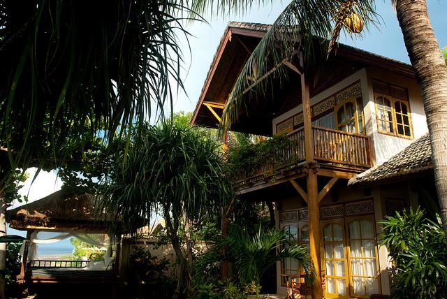 Bali Beach House - Bedroom Balcony by Jesse Wagstaff on Flickr