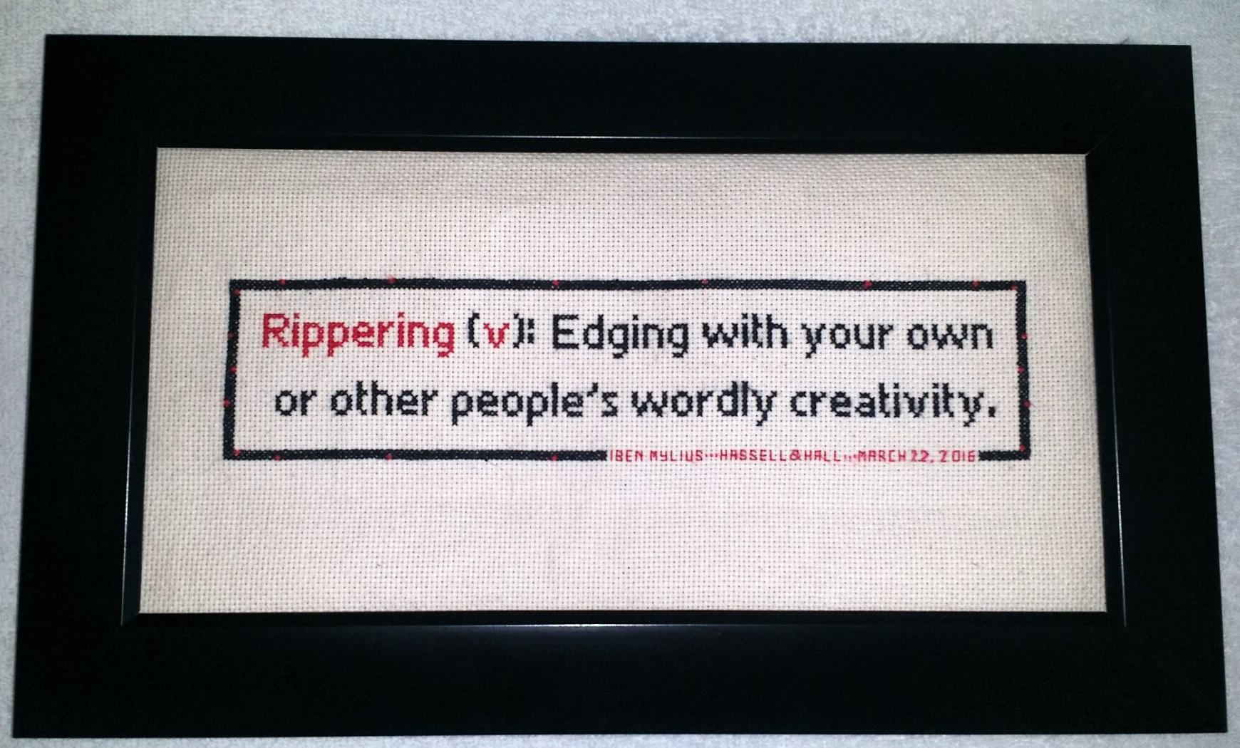 Rippering