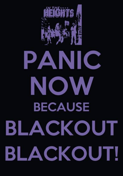 Blackout Don't Panic